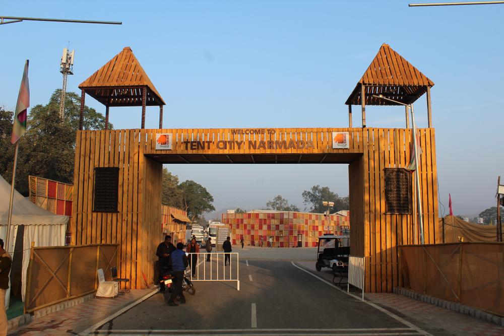 Sardar Sarovar Dam - Narmada Tent City | Statue of Unity